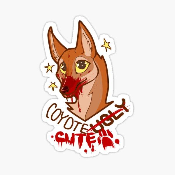 coyote cute Sticker