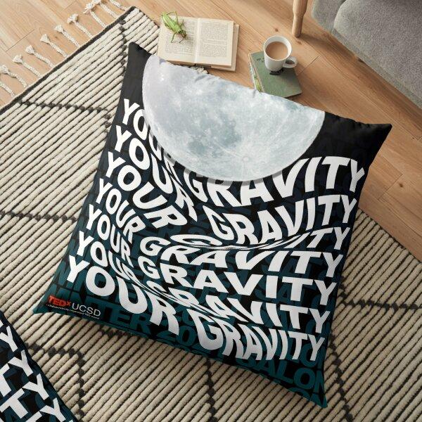 Your Gravity | TEDxUCSD Winter 2021 Salon Floor Pillow
