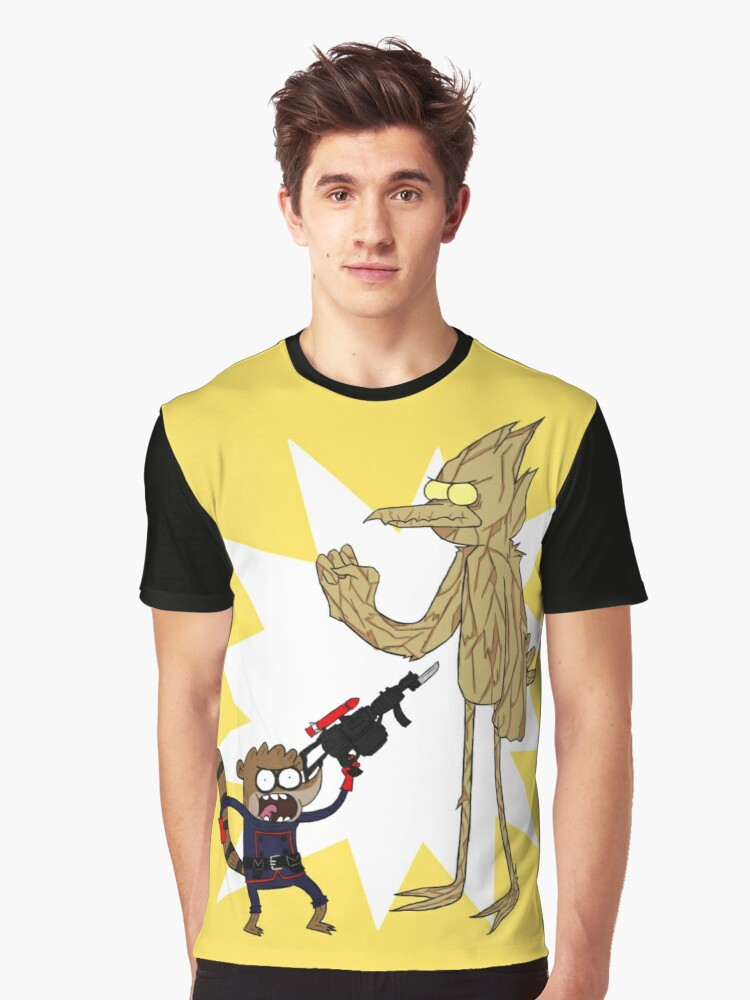Rocket Rigby and Mordegroot Graphic T-Shirt Front