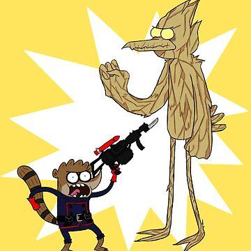 Rocket Rigby and Mordegroot by gunkers