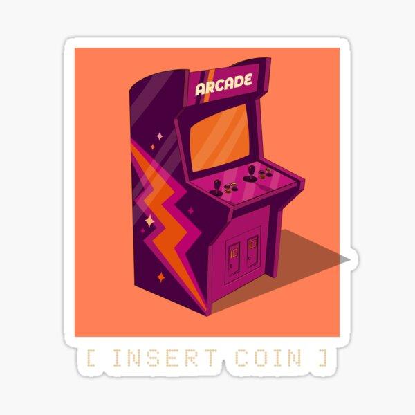Insert coin. Sticker