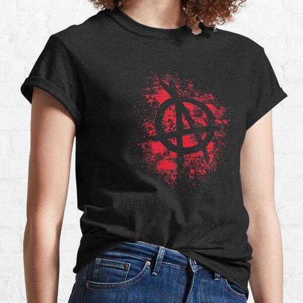 OPA Red Splatter Logo Classic T-Shirt
