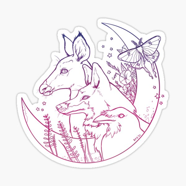 Nature Night Sticker