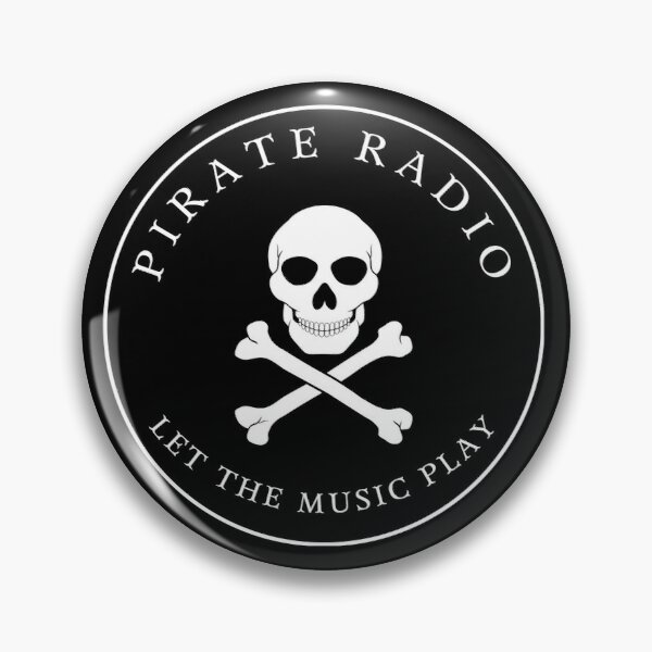 Pirate Radio | Let The Music Play Pin