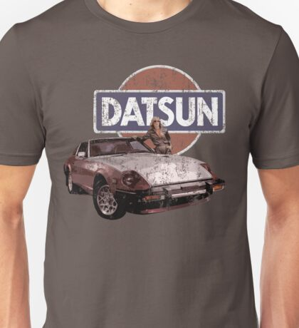 Datsun Logo and Retro Car T-shirt