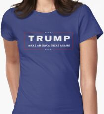 TRUMP MAKE AMERICA GREAT AGAIN! Women's Fitted T-Shirt