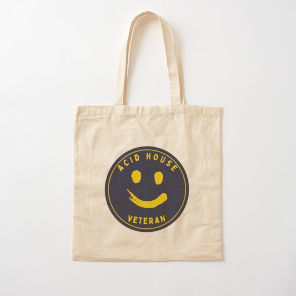 Acid House Veteran Cotton Tote Bag