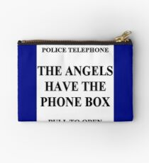 The Angels have the Phone Box Studio Pouch