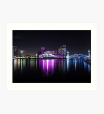 Media City Manchester And Lowrie Centre Art Print
