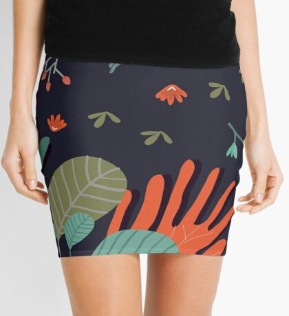 Camping With Fox Mini Skirt