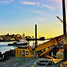 Gloucester Harbor ~ Hard At Work by artwhiz47