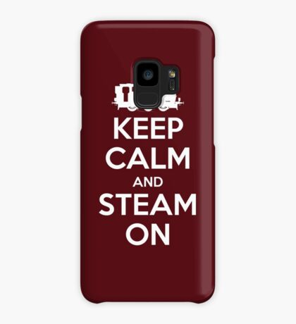 Keep Calm and Steam On Steam Engine #2A Case/Skin for Samsung Galaxy