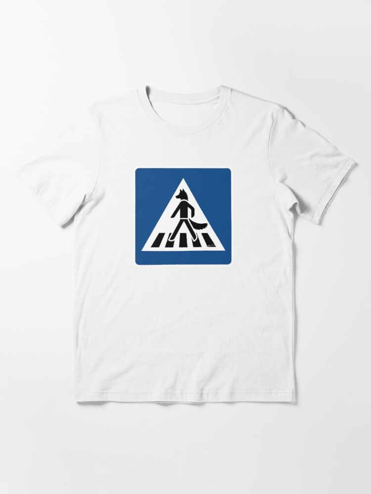 Alternate view of THE WALKING WOLF Essential T-Shirt