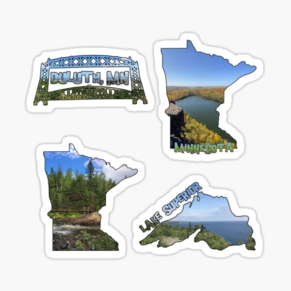 Minnesota Themed Sticker Pack Sticker
