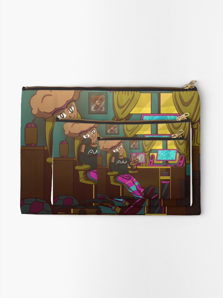 Alternate view of Antwizzler Jerry Muffin. Vibing Zipper Pouch