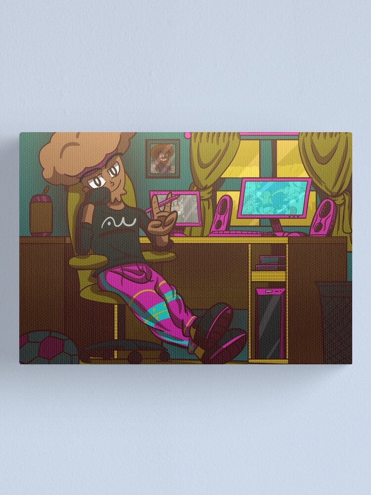 Alternate view of Antwizzler Jerry Muffin. Vibing Canvas Print