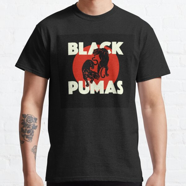 NEGRO PUMAS BAND WAR NIGHT DENICAGUR Camiseta clásica