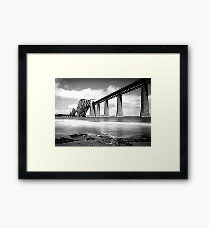 The Rail Bridge Framed Print