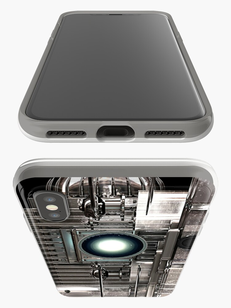 Alternate view of Vintage Film Projector - Steampunk / Sci-Fi style iPhone Case & Cover