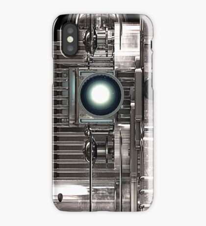 Vintage Film Projector - Steampunk / Sci-Fi style iPhone Case