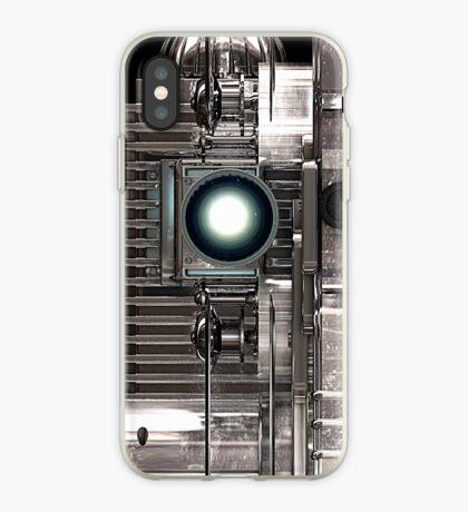 Vintage Film Projector - Steampunk / Sci-Fi style iPhone Case