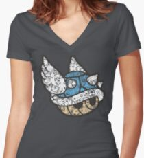1st Place Women's Fitted V-Neck T-Shirt
