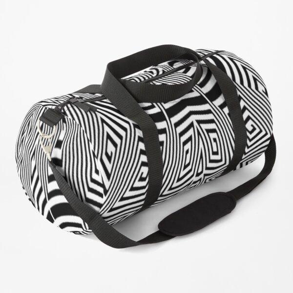 Psychedelic Hypnotic Visual Illusion Duffle Bag