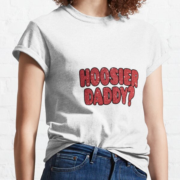 Hoosier Daddy  Red Basic Men/'s T-Shirt