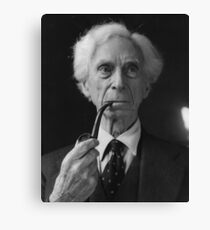Bertrand Russell Pipe Canvas Print