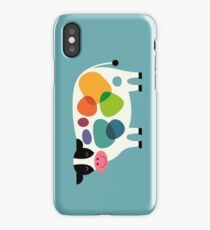 Awesome Cow iPhone Case/Skin