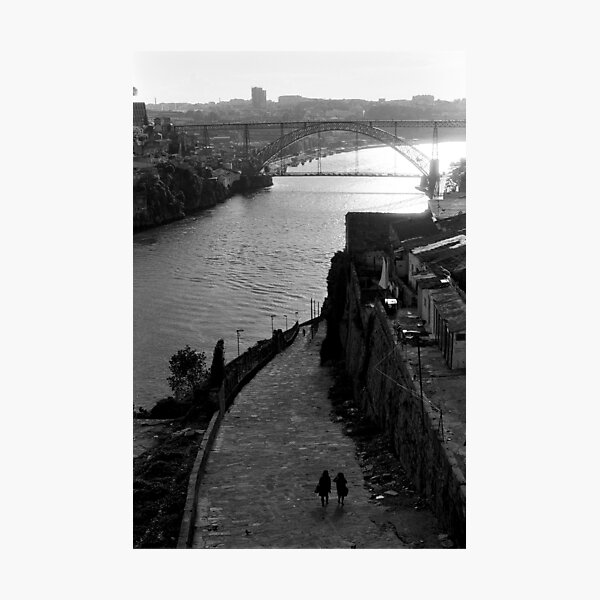 The Arch from Porto to Gaia Photographic Print