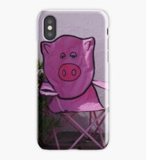 Pink Pigs iPhone Case