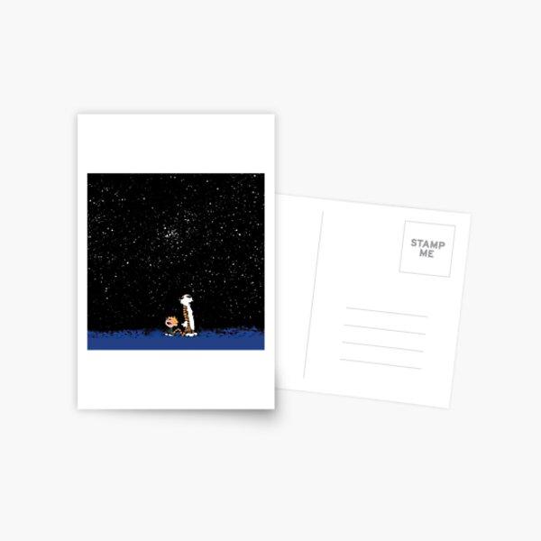 Calvin et Hobbes Carte postale
