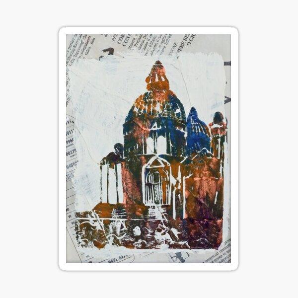Salute Church - Venice, Italy Sticker