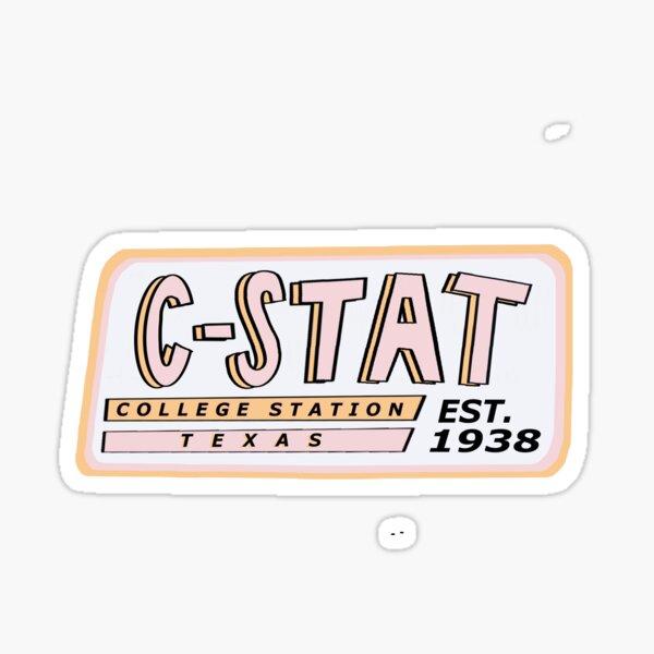 College Station Sticker Sticker