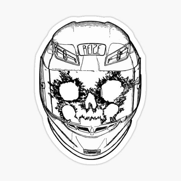 The Laughing Skull Rider Sticker