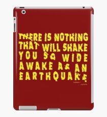 Earthquake iPad Case/Skin