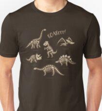 Dinosaur skeletons Unisex T-Shirt