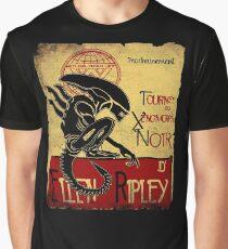 Tournee du Xenomorphe Noir Graphic T-Shirt