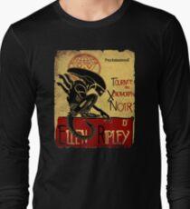 Tournee du Xenomorphe Noir Long Sleeve T-Shirt