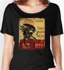 Tournee du Xenomorphe Noir Women's Relaxed Fit T-Shirt