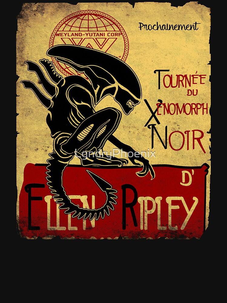 Tournee du Xenomorphe Noir | Unisex T-Shirt