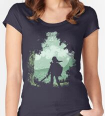 Adventure Begins Women's Fitted Scoop T-Shirt