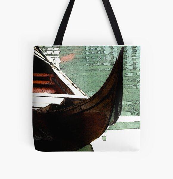The Gondola All Over Print Tote Bag