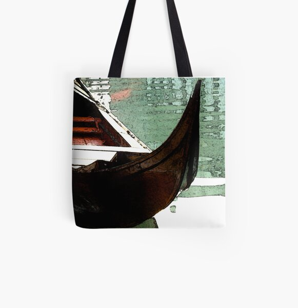 The Gondola All Over Print Tote Bag