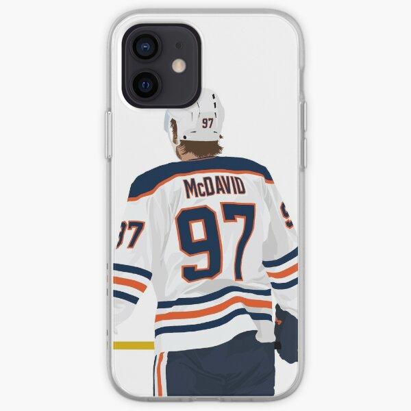 Connor McDavid 97 Coque souple iPhone