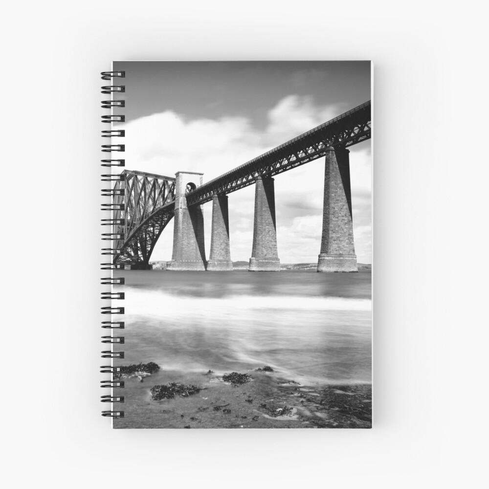 The Rail Bridge Spiral Notebook