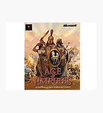Age of Empires Classic Photographic Print