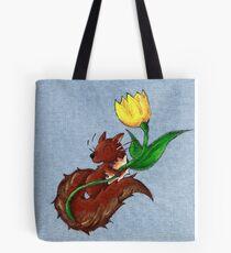 Garden Squirrel Tote Bag
