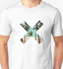 X Palm Tree Beach T-Shirt